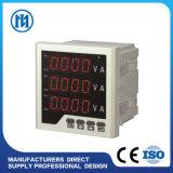 Mètre de panneau harmonique de Digitals de fonction multi de KWH de pouvoir de volt d'ampère de C.C à C.A.