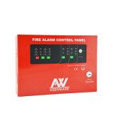 二線式バス24V従来の慣習的な火災報知器のコントロール・パネル