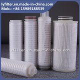 Il commestibile da 20 pollici pp ha pieghettato la cartuccia di filtro dal micron per l'industria della cantina