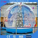 Un gran Globo de Nieve inflable con pantalla personalizada para vacaciones