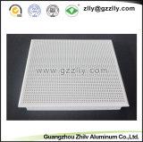 Потолок акустического алюминия ISO9001 Perforated ложный с 12 летами опыта