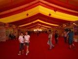 Carpa grande al aire libre de eventos para el banquete de boda