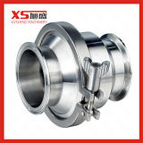 Aço inoxidável DIN sanitárias das Válvulas de Retenção