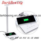 Chargeur sans fil de téléphone cellulaire avec la lampe de Tableau de DEL aucun signal d'échantillonnage