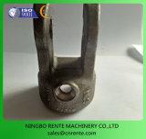 Режа и поворачивая сталь машинного оборудования/алюминий/медь/подвергли механической обработке латунью, котор части с центром машины CNC