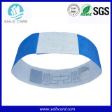 Braccialetto molle poco costoso/Wristband di frequenza ultraelevata RFID della plastica di Adjustible di lunghezza