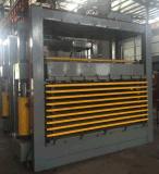 Máquina caliente de la prensa para el panel laminado de la puerta