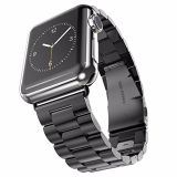 Faixa de relógio do aço inoxidável de Hoco para a série 3 do relógio de Apple 2 &1 faixa 38mm/42mm