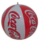 Esfera de praia inflável personalizada da promoção do PVC para a promoção