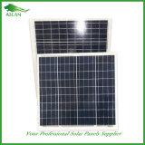 Poli prezzo del comitato solare 50W di alta qualità
