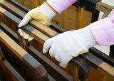 Tricoté en pointillé en PVC de la sécurité des gants de travail