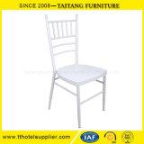 普及した結婚式のイベントの白いChiavariの椅子のTiffanyの椅子の鉄材料