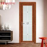 Portes intérieures en aluminium de salle de bains de matériau de construction avec la configuration classique