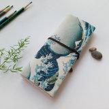 Cadre cosmétique Estuches Papelaria de Pecncil de support de sac de mémoire de crayon lecteur de balai de renivellement de poche de roulis de toile d'école de trousse d'écolier de cru