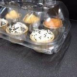 명확한 플라스틱 컵케이크 상자