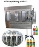 Selbstfruchtsaft-Warmeinfüllen-flüssige Verpackungs-Getränkemaschinerie für Plastik- oder Glasflasche