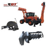 Carregador do Backhoe da parte frontal dos fornecedores Obt20-25e de China