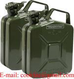 ООН-Zulassung Mit Stahlblech Benzinkanister Metall Kanister Blech Dieselkanister 5L/может