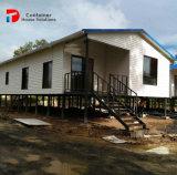 Il disegno d'acciaio prefabbricato di lusso della villa, cementa la villa prefabbricata del cemento refrattario