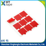 熱いケーブルのための溶解によって型抜きされるペット自己接着シーリングテープ