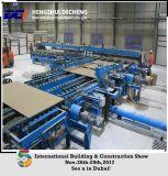 Cadena de producción automática entera de la tarjeta del techo del yeso de la eficacia alta