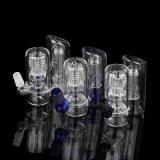 Colector de cristal de cristal de la ceniza de los accesorios del tubo de agua de los accesorios que fuma que fuma