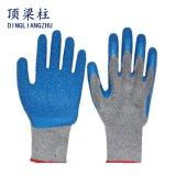 померанцовые акриловые перчатки вкладыша 7g при голубой покрынный латекс