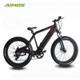 Preço barato 26pol*4 PNEU gordura 500W Electric Mountain Bike pneu de gordura