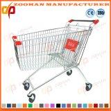 Цинк верхнего качества или покрынная кромом вагонетка покупкы Supermarkt (Zht113)