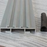 La série 6000 Les Profils de porte en aluminium anodisé argent