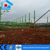 Taller comprable del acero de la estructura de la casa verde de la resistencia de moho
