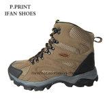 Замша PU Hiking напольное ботинок отрезанное максимумом для ботинок Moutain