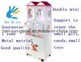 Doppia mini macchina del gioco del regalo della gru del giocattolo