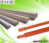 Blanco de PVC de 180 grados de flexión del conducto de cable