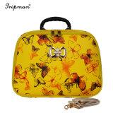 Gelegentliche Kombination PU-Walzen-Gepäck-Basisrecheneinheits-Farben-Dame Travel Bags