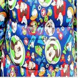Polyester-Taft-Gewebe mit W/R, prüfen unten, gedruckt und kalandern für Mantel