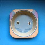 Qualität bereitete Bambusfaser-Kind-Essgeschirr-Set auf