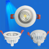 9W IP65 Waterproof  Luz de teto COB&#160 Recessed do diodo emissor de luz; LED  Downlight