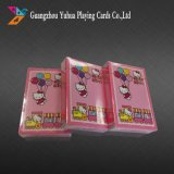 Publicidad Poker Naipes con papel de imprenta