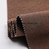 Rociar el agua de color marrón tejido muebles con el apoyo T/C