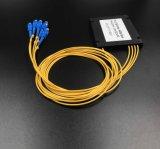 Gpon Telecommunciation 플라스틱 상자 1X4 PLC 쪼개는 도구