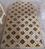 Китай шаблон из природного камня мозаика Пол и стены плитки Water-Jet украшения