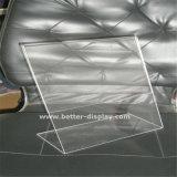 Doppio blocco per grafici parteggiato acrilico libero A1 A2 A3 A4 del manifesto di Plexiglss
