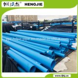 Lista de preço da tubulação do HDPE do rolo da tubulação do HDPE da água azul de padrão de ISO
