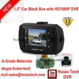 """5.0mega車のデジタルビデオレコーダーDVR-1502が付いている新しい隠されたデザイン1.5 """" TFT 1080P車のダッシュのカメラのブラックボックス"""