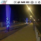 Luz de Estrada 3m 15W luz LED Solar De Jardim Piscina