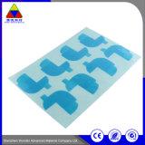 Kundenspezifischer wärmeempfindlicher gedruckter Papieraufkleber-Kennsatz für schützenden Film
