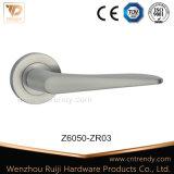 Badezimmer-/Schlafzimmer-Schlaufen-Typ Tür-Griff auf Firmenschild (Z6049-ZR03)