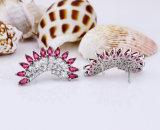 숙녀 귀걸이 디자인 그림 입방 지르콘 공상 귀걸이
