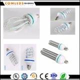 """85-265 V """"U""""forma espiral Lotus LED Lámpara de ahorro de energía"""